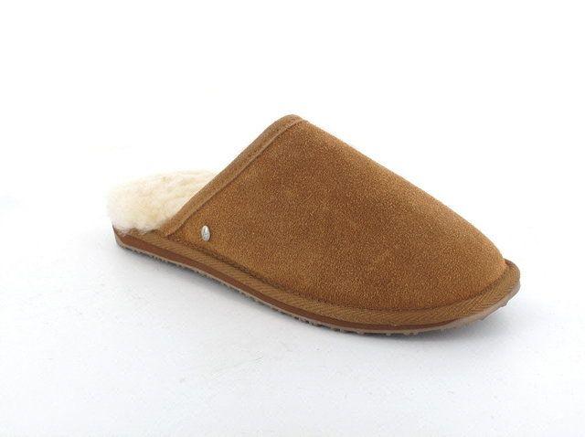 EMU Australia Addis W11022-10 Chestnut Brown slipper mules