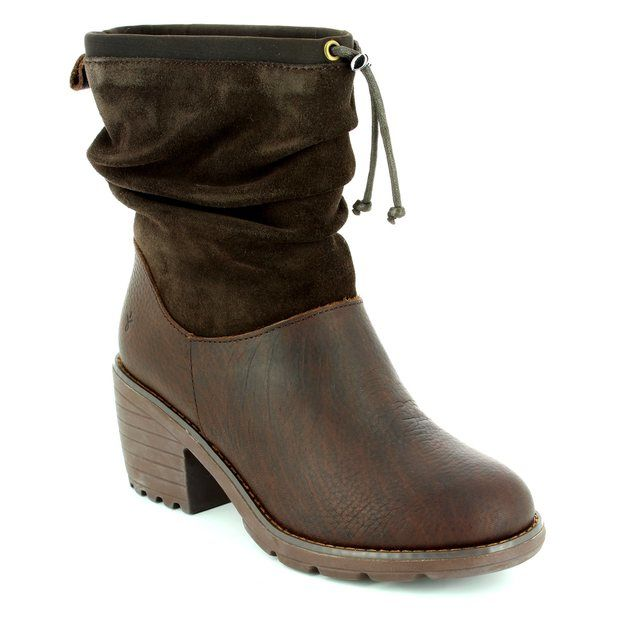 EMU Australia Ankle Boots - Brown - W11138/20 COOMA