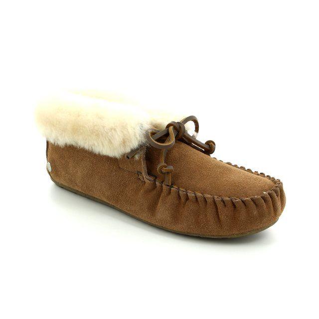 EMU Australia Slippers - Chestnut Brown - W10926/20 MOONAH