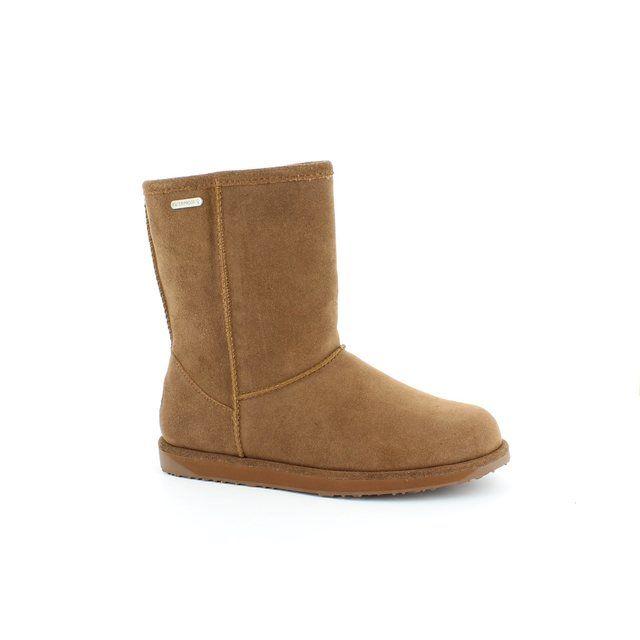 EMU Australia Paterson Lo W10771-10 Tan suede ankle boots