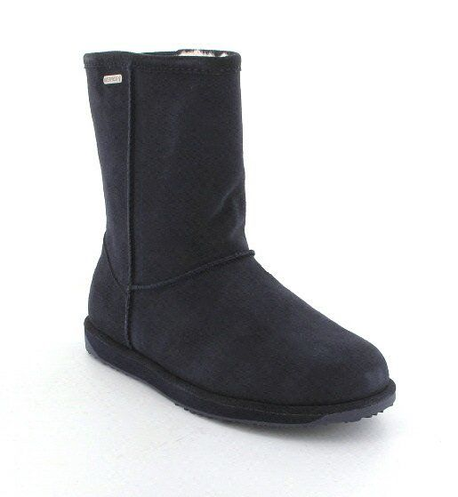 EMU Australia Paterson Lo W10771-70 Navy suede ankle boots