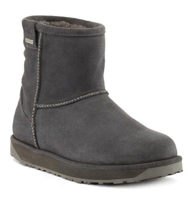 EMU Australia Paterson Mini W10946-00 Charcoal ankle boots