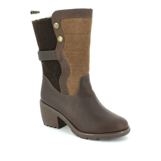 EMU Australia Perisher W11139-30 Brown multi ankle boots