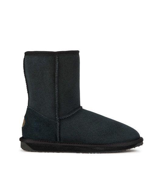 EMU Australia Stinger Lo W10002-30 Black ankle boots