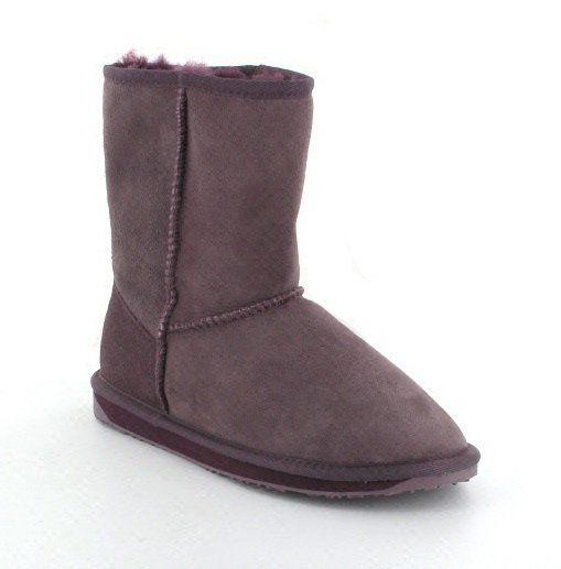 EMU Australia Stinger Lo W10002-90 Purple ankle boots