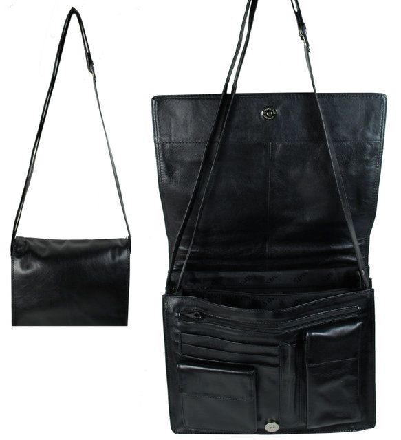 Exclusive to Begg Shoes As 9124 Lgefla 9124-30 Black handbag