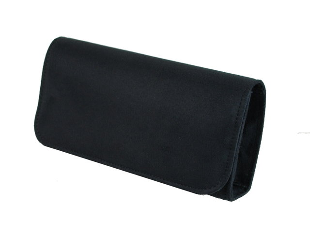 Exclusive to Begg Shoes Cinderella 1633-30 Black suede or snake matching handbag
