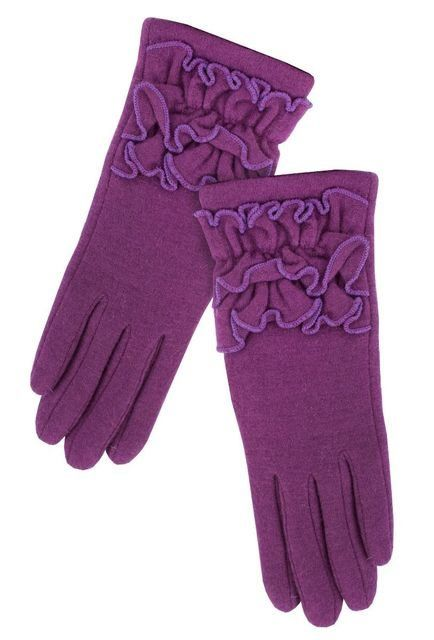 Exclusive to Begg Shoes Dana   Glove 1235-90 Purple bags