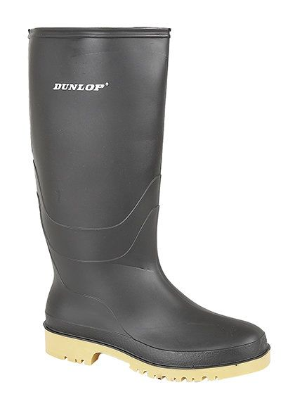 Exclusive to Begg Shoes Jnr Unive W028 0028-30 Black wellies