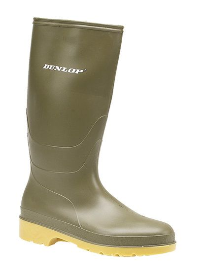Exclusive to Begg Shoes Wellies - Green - W0028/70 JNR UNIVE W028