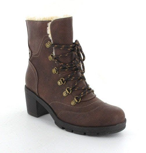 Exclusive to Begg Shoes Poncher 206668-MBN Brown ankle boots