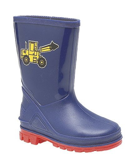 Exclusive to Begg Shoes Wellies - Navy - W0204/70 PUDDLE  W204C