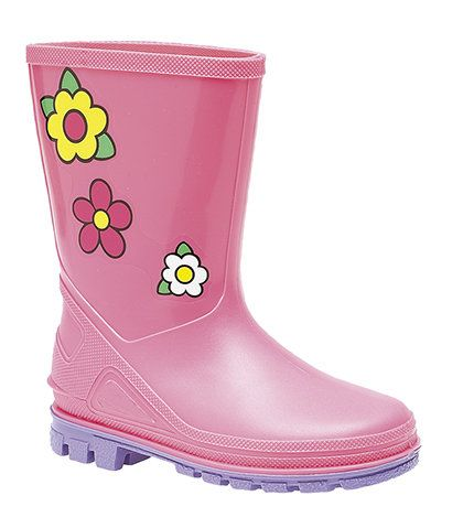 Exclusive to Begg Shoes Wellies - Pink - W0204/60 PUDDLE  W204PK
