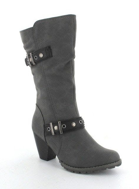Exclusive to Begg Shoes Sampdoria 131402-433 Grey multi long boots