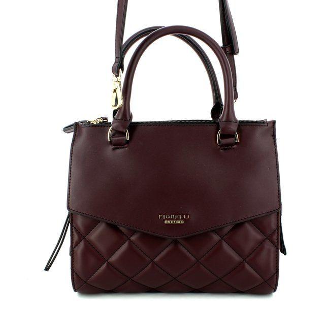Fiorelli Mia Quilt GH8667-90 Aubergine handbag