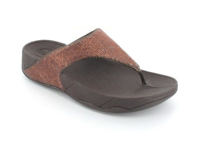 FitFlop Astrid 104-200 Copper slipper mules