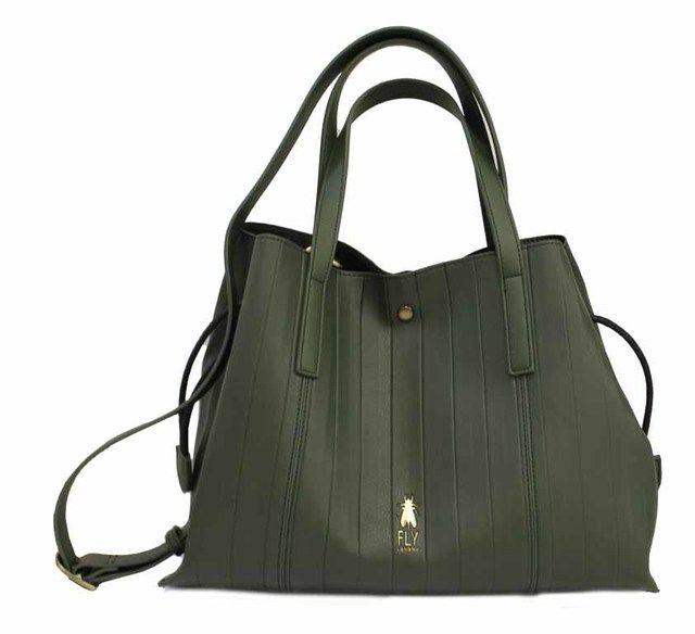 Fly London Handbag - Black - P974699 ARROW SHOPPER
