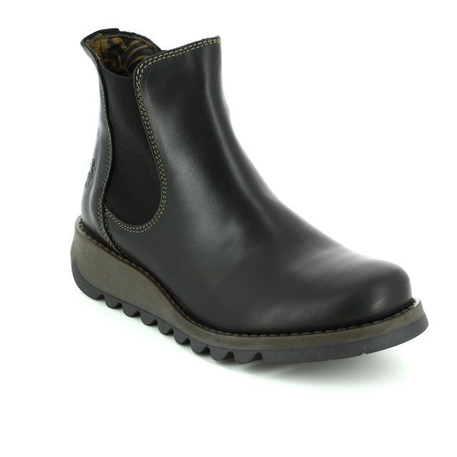 Fly London Chelsea Boots - Black - P143195 SALV 195