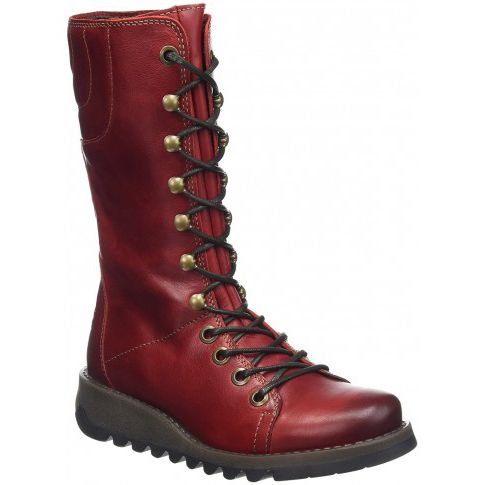 Fly London Ster 768 P143768-004 Red long boots