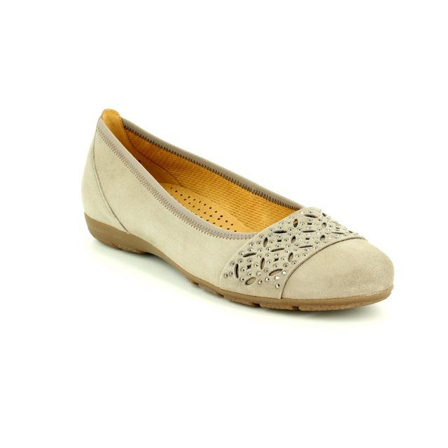 Gabor Pumps - Taupe suede - 84.160.12 ACTIVE 2