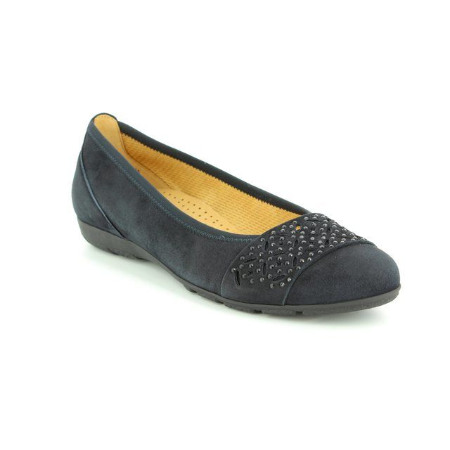 Gabor Pumps - Navy suede - 84.160.16 ACTIVE 2