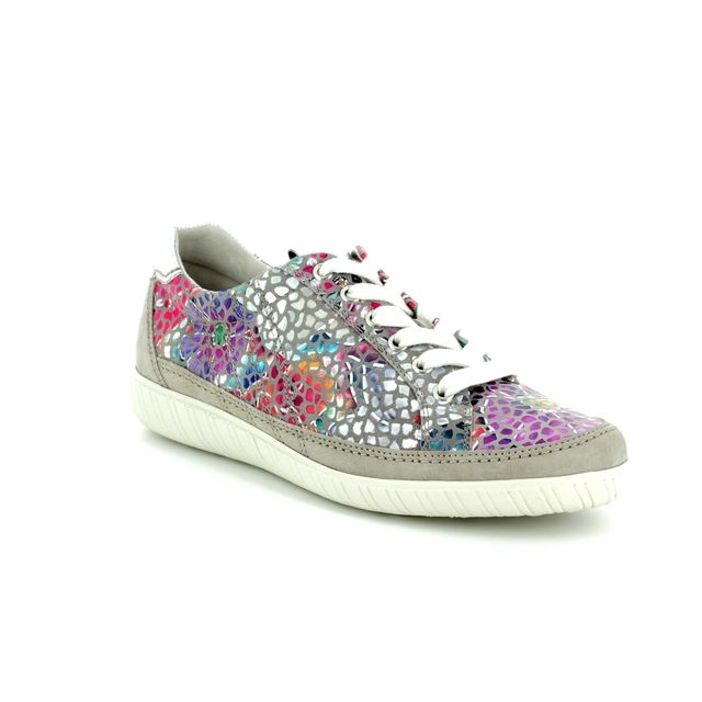 Gabor Trainers - Grey Multi Floral - 86.458.13 AMULET