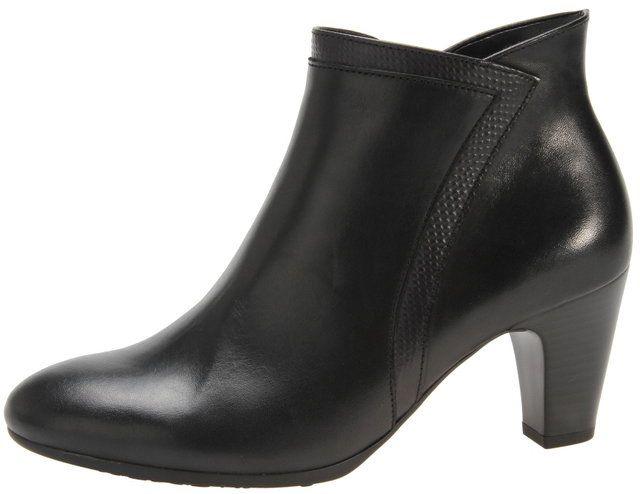 Gabor Bessie 75.753.87 Black ankle boots