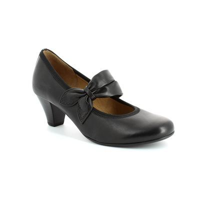 Gabor Betbar 25.480.27 Black heeled shoes