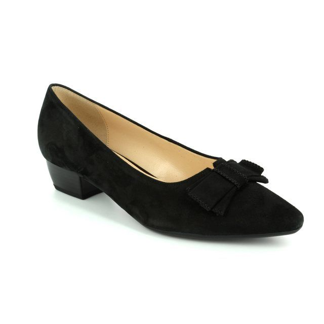 Gabor Blondel 75.132.17 Black suede pumps
