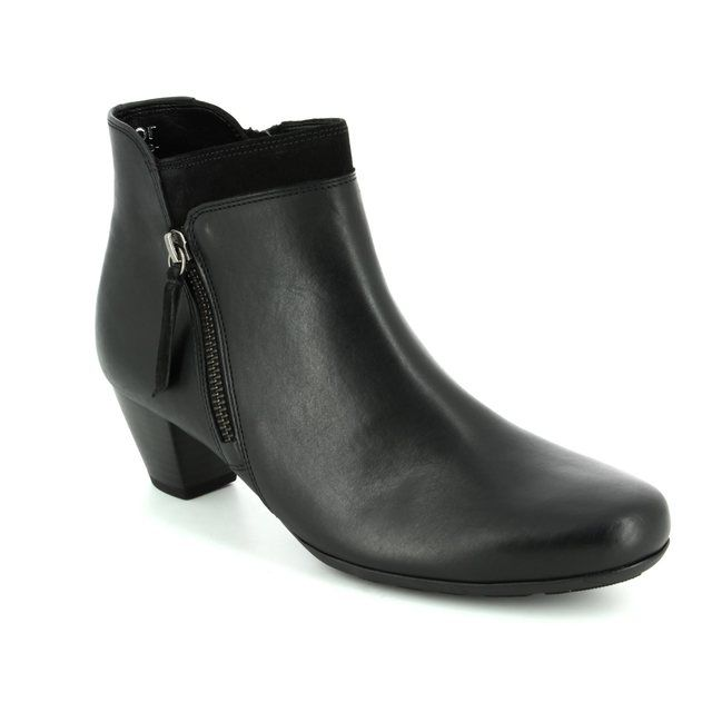Gabor Bonsoir 72.821.57 Black ankle boots