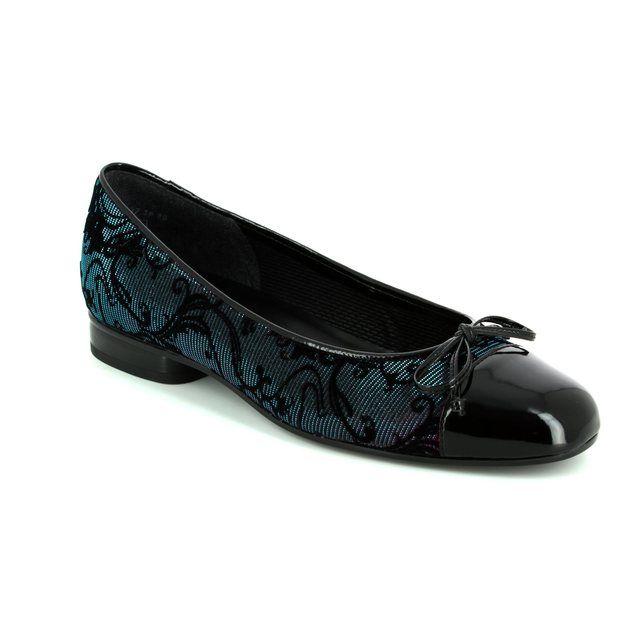 Gabor Pumps - Black fabric - 75.112.87 BRACH