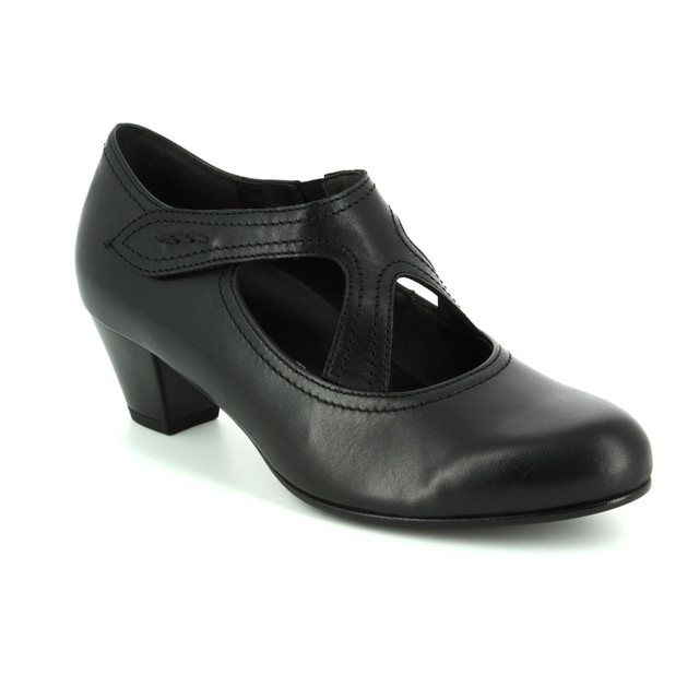 Gabor Heeled Shoes - Black - 76.149.57 BREDA