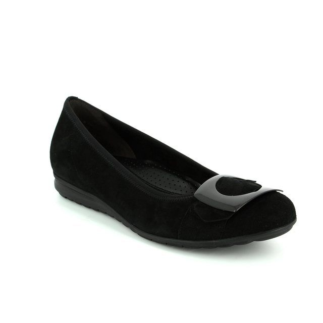 Gabor Cash 62.625.47 Black suede pumps