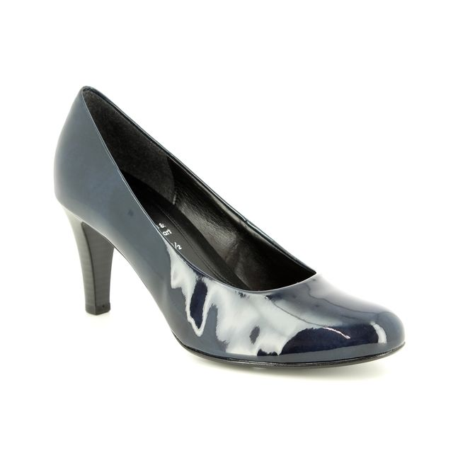 Gabor High-heeled Shoes - Navy patent - 95.310.76 CRANBERRY