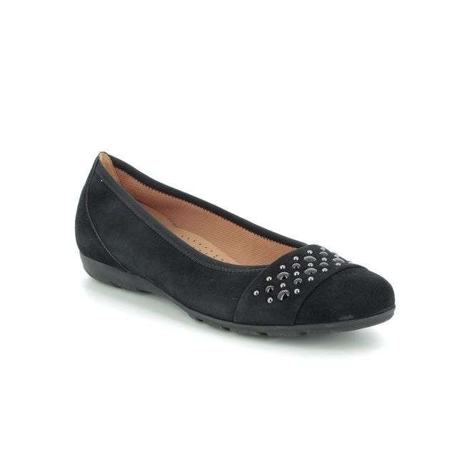 Gabor Pumps - Black suede - 24.166.17 ELECTRA