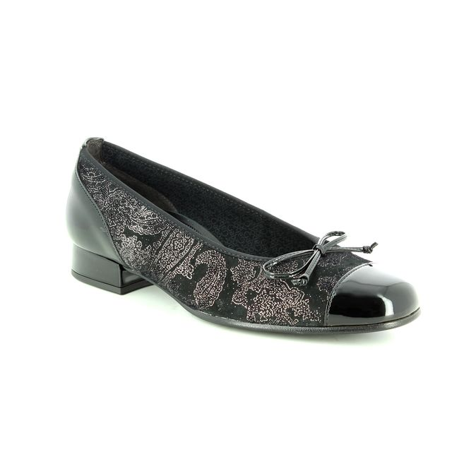 Gabor Pumps - Black fabric - 96.102.17 EMPORIUM