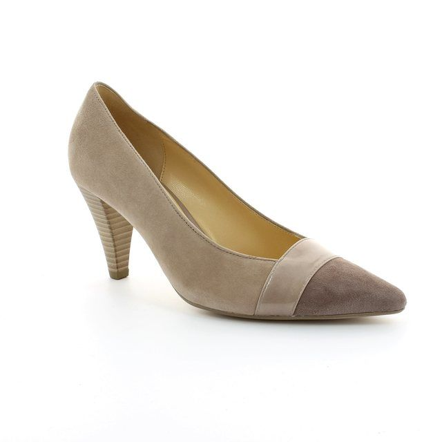 Gabor Erskine 21.283.10 Nude multi high-heeled shoes