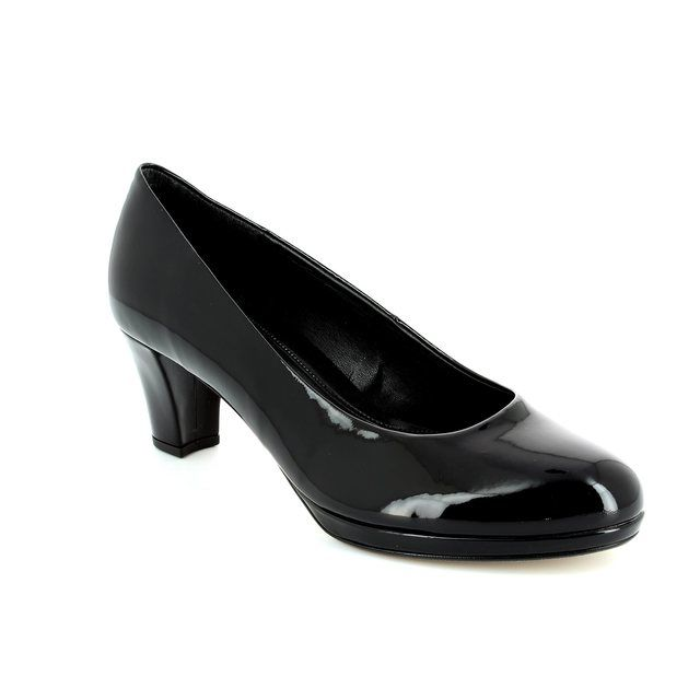 Gabor High-heeled Shoes - Black patent - 41.260.77 FIGARO