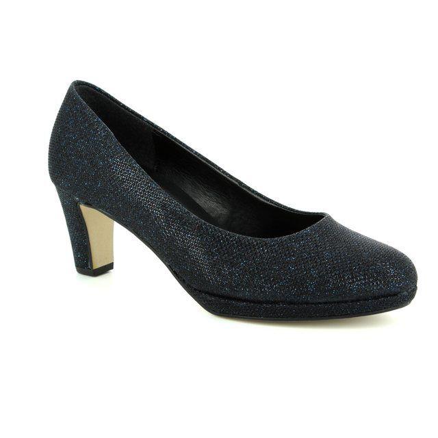 Gabor High-heeled Shoes - Navy Glitz - 81.260.66 FIGARO