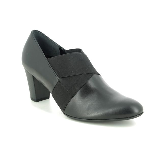 Gabor Shoe-boots - Black leather - 52.165.57 FUNCTION