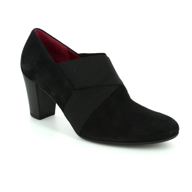 Gabor Shoe-boots - Black suede - 72.165.47 FUNCTION