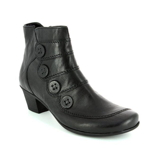 Gabor Georgie 54.691.57 Black ankle boots