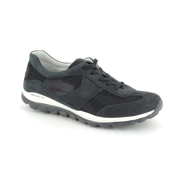 Gabor Lacing Shoes - Navy - 66.966.46 HELEN
