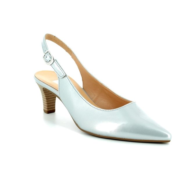 Gabor High-heeled Shoes - Silver - 81.550.92 HUME 2