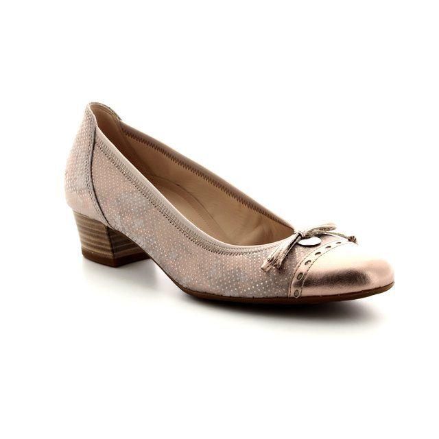 Gabor Heeled Shoes - Metallic - 82.203.22 ISLAY