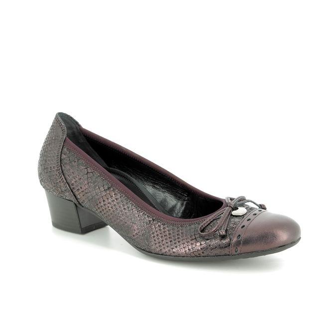Gabor Heeled Shoes - Aubergine - 92.203.61 ISLAY