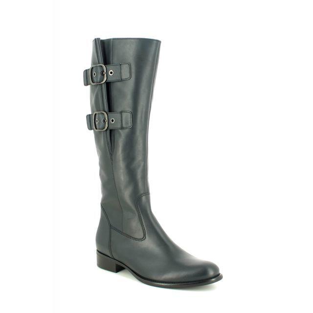 Gabor Kalmer Astoria 31.641.56 Navy Leather knee-high boots
