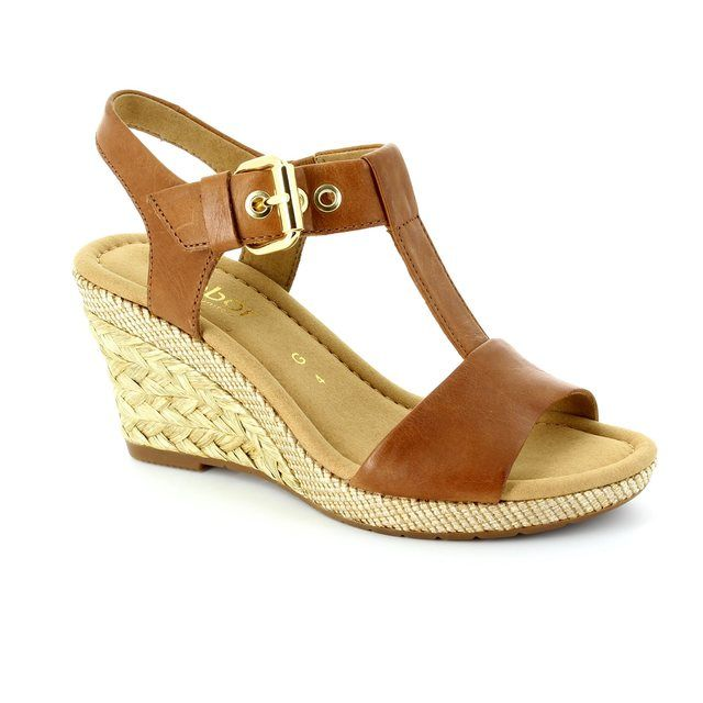 Gabor Karen Milan 42.824.54 Tan sandals