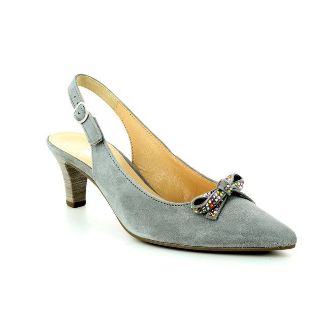 Gabor High-heeled Shoes - Light Grey - 81.551.39 KELBY