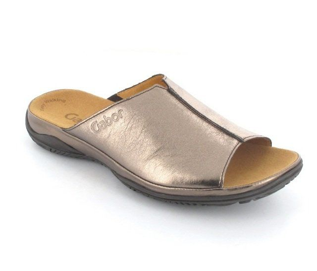 Gabor Korfu 82.090.19 Pewter sandals